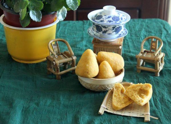 【健康佳食玉米小窝头】——记忆中的粗粮美食