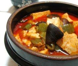 辣酱焖豆腐的做法