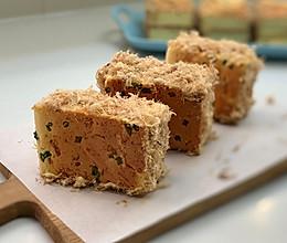 记忆中的味道,香葱肉松蛋糕的做法