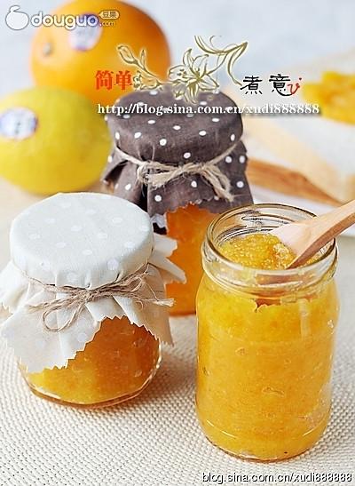 冰糖橙子酱的做法