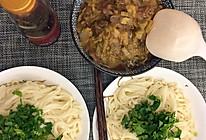 羊肉白菜拌面的做法