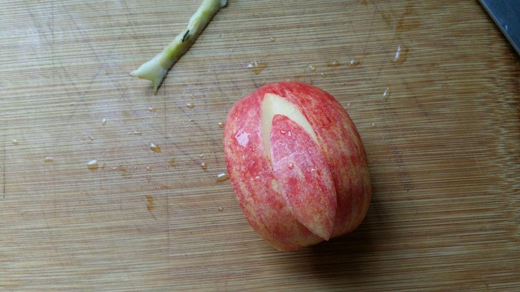 苹果摆盘分步图解