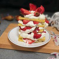 草莓蛋糕塔的做法图解11