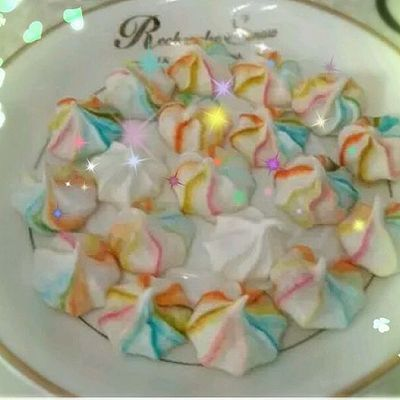 彩虹蛋白糖