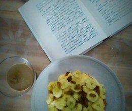 香蕉牛奶吐司布丁的做法