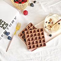 巧克力华夫饼的做法图解9