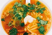减脂肥牛金针菇番茄汤的做法