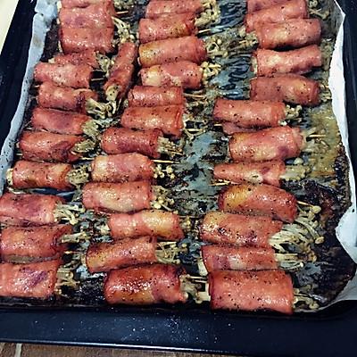 金针菇培根卷-烤箱版