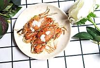 盐烤三眼蟹的做法