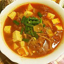 既是汤又是菜--泡菜豆腐汤