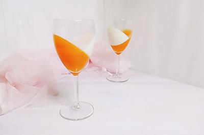 营养美味并存的红萝卜牛奶布丁杯