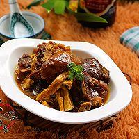 咖喱羊肉焖腐竹#咖喱萌太奇#的做法图解15