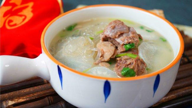 暖身又暖胃的羊肉萝卜粉丝汤的做法