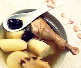 淮山鸡汤的做法