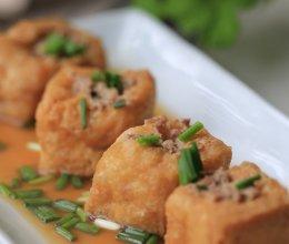 油豆腐酿肉的做法