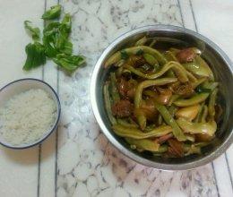 肉炖豆角土豆粉条的做法