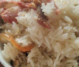 香菇腊味饭的做法
