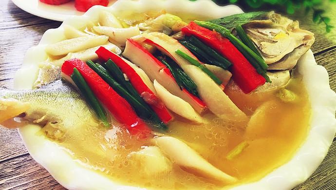 土法白烧鲳鱼#浪漫樱花季#