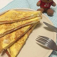 大龄文艺女青年的早餐:10分钟三明治 的做法图解6