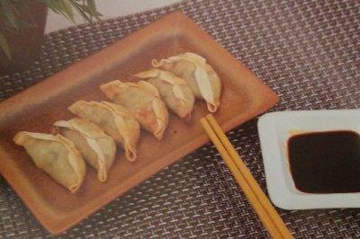 简易的空气炸锅食品——香脆炸饺子