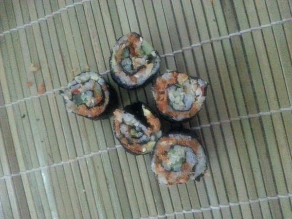 简版寿司的做法