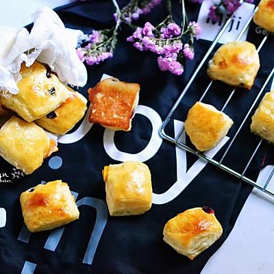 秋季小零食 杂果面包小方