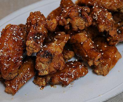 韩式炸鸡翅 Korean Fried Chicken