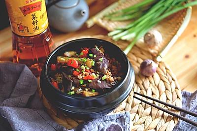酱香肉末茄子煲