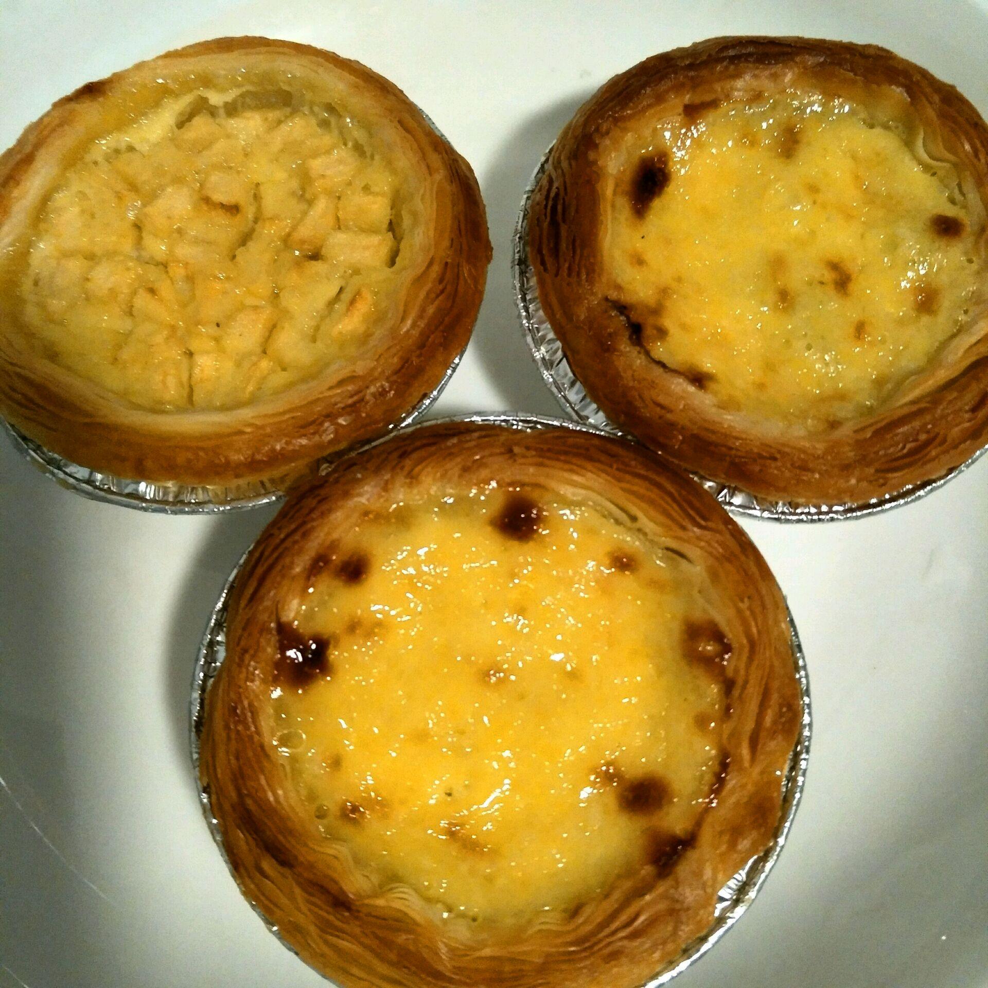 红豆/苹果蛋挞的做法图解9