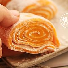 红薯一个新做法 香甜软糯红薯卷