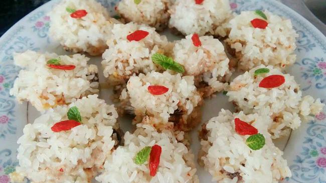 李孃孃爱厨房之一一糯米蒸排骨的做法