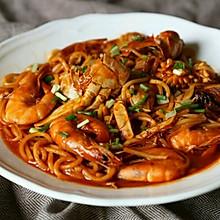 韩剧【一起用餐吧】青海大王海鲜面