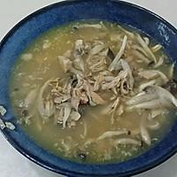 脊骨汤炖蘑菇的做法图解3