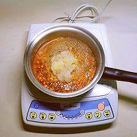 豌豆汁心饭团 太太乐鲜鸡汁蒸鸡原汤的做法图解9