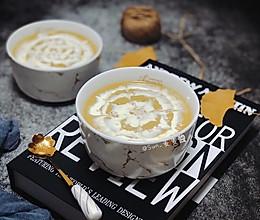 板栗南瓜奶油浓汤#我的养生日常-远离秋燥#的做法
