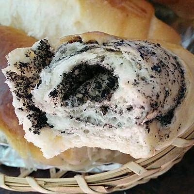芝麻炼乳小面包卷