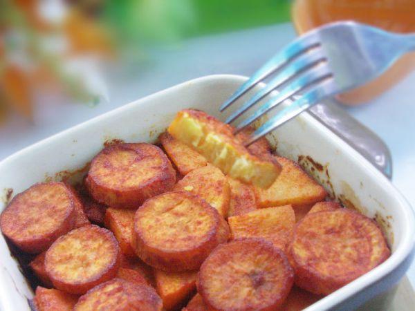 苹果烤红薯的做法