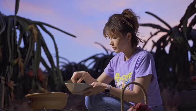 来看看米妈妈在火龙果园里做了什么好吃的