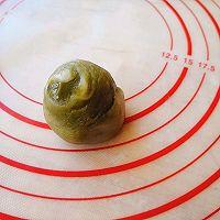 抹茶豆沙酥的做法图解13