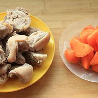胡萝卜烧羊肉----冬季暖身的做法图解2