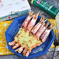 芝士蒜香红虾#中粮我买,真实惠才是食力派#
