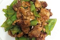 辣椒炒鸡腿的做法