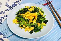 鸡蛋炒菠菜#快手又营养,我家的冬日必备菜品#的做法