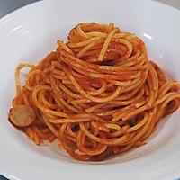猪肉肠番茄意面#厨房有维达洁净超省心#的做法图解13