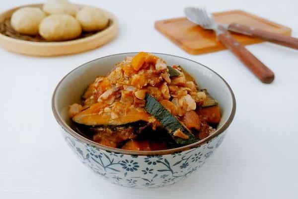 中秋南瓜果子米的做法
