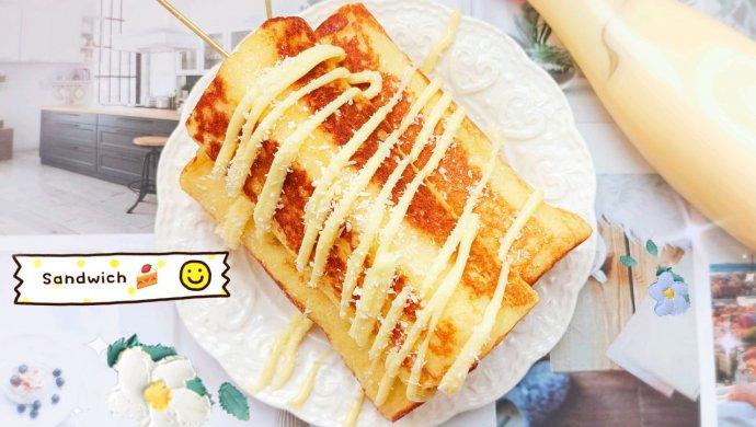 满足味蕾的薯香芝士三明治卷