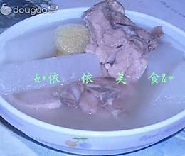 白萝卜骨头汤的做法
