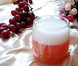 #我为奥运出食力#缤纷下午茶之椰汁葡萄凉粉