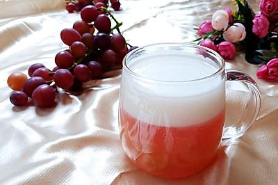 缤纷下午茶之椰汁葡萄凉粉