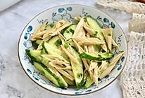 黄瓜拌腐竹的做法